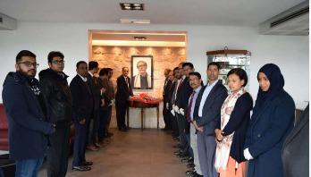 ইতালির বাংলাদেশ দূতাবাসে বঙ্গবন্ধুর জন্মশতবার্ষিকী উদযাপন