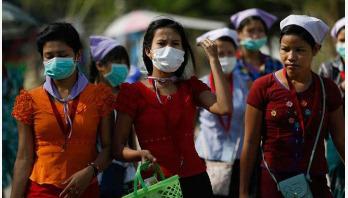 Myanmar reports two new coronavirus cases