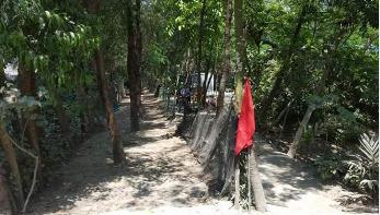 নোয়াখালীর ৪টি বাড়ি লকডাউন