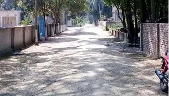 নরসিংদীতে একটি গ্রাম লকডাউন