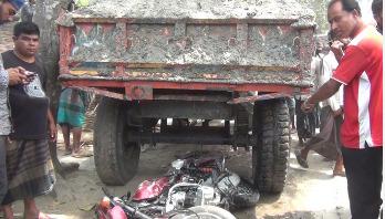 জয়পুরহাটে মোটরসাইকেল আরোহী নিহত