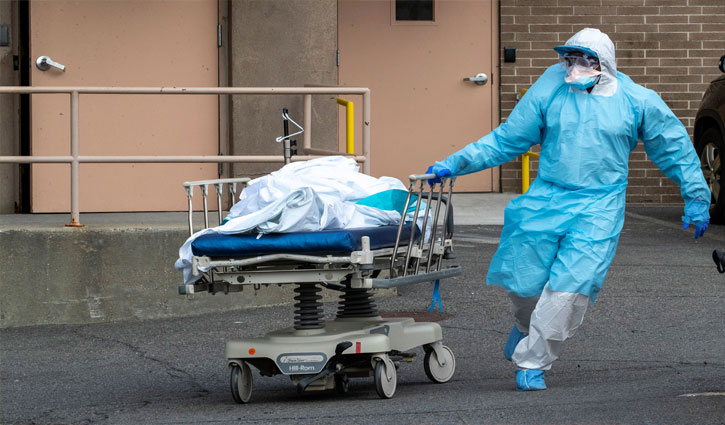 New York records largest single-day death toll from coronavirus