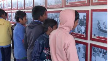 বঙ্গবন্ধুর প্রাথমিক বিদ্যালয়েও মুজিববর্ষের হাওয়া