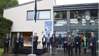রোমে বাংলাদেশ দূতাবাসে স্বাধীনতা দিবস উদযাপন