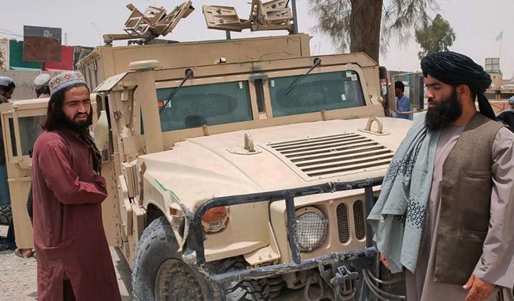 যেভাবে তালেবানের দখলে আফগানিস্তান