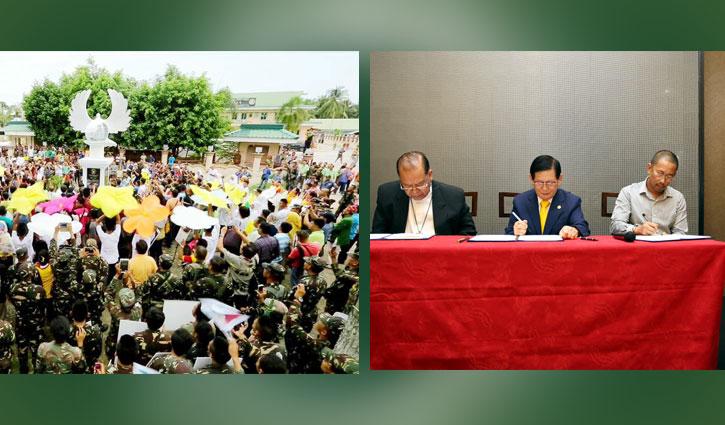 মিন্দানাওয়ে শান্তি বয়ে এনেছে এইচডব্লিউপিএল-এর নাগরিক চুক্তি