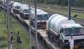 ভারতীয় রেলওয়ের 'অক্সিজেন এক্সপ্রেস' বাংলাদেশে পৌঁছেছে
