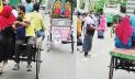 লকডাউনের ৮ম দিন: পিকআপ-মোটরসাইকেলে ঢাকায় ফিরছেন মানুষ