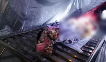 ঢাকা-টাঙ্গাইল মহাসড়কে সড়ক দুর্ঘটনায় ভ্যানচালক নিহত