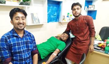 ৫ বছরে ৩ হাজার রোগীকে স্বেচ্ছায় রক্তদান বিকেবি ক্লাবের