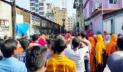 টঙ্গীতে পোশাক কারখানায় শ্রমিক-পুলিশ সংঘর্ষ, কারখানা বন্ধ