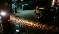 টাঙ্গাইল শহরে এক ঘণ্টার বৃষ্টিতে হাঁটু পানি