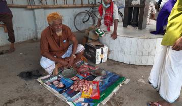 সিরাজগঞ্জে পাড়া-মহল্লায় কোরবানির মাংসের হাট