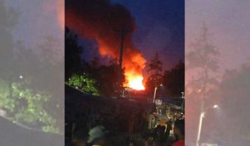 রোহিঙ্গা ক্যাম্পে অগ্নিকাণ্ডে আহত ১০, পুড়েছে ২৩ ঘর