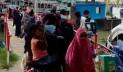 শিমুলিয়ায় ঢাকামুখী যাত্রীদের ঢল