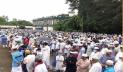 মসজিদ প্রাঙ্গণে শায়িত রজভী, জানাযায় মুসল্লির ঢল