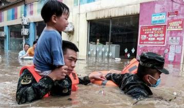 চীনে প্রবল বৃষ্টিতে ২১ জনের মৃত্যু