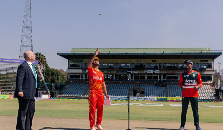 Tigers fielding in final match too as Zimbabwe opt to bat