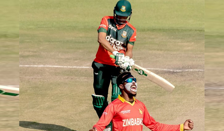 Bangladesh lose 2nd T20 against Zimbabwe