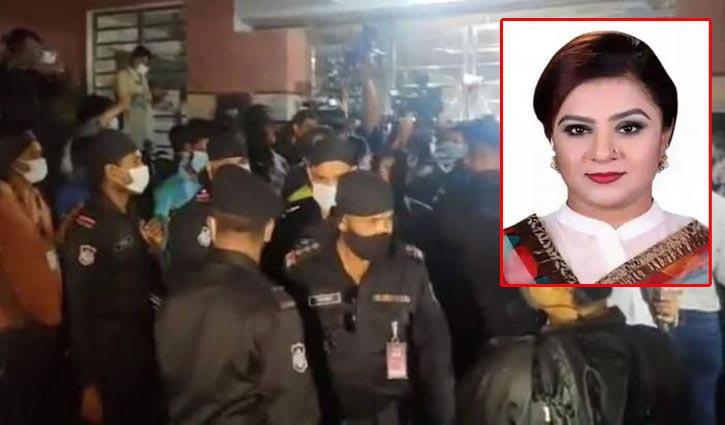Helena Jahangir detained