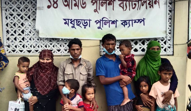10 Rohingyas who fled from Bhashan Char arrested