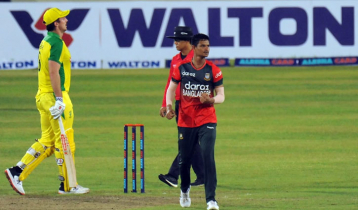 Tigers make history as they beat Australia in 1st T20I