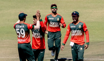 Bangladesh need 167 runs to seal Zimbabwe T20 series