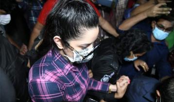 Actress Pori Moni held, huge drug seized