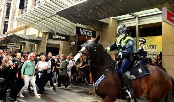Australian city hit by anti-lockdown protests