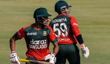 Bangladesh's 100th T20: Tigers beat Zimbabwe by 8 wickets