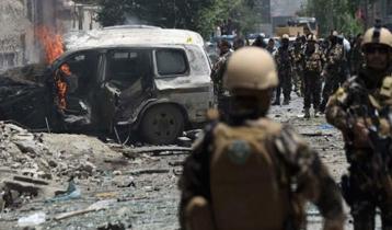 Powerful blasts, gunfire rock Kabul