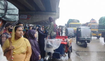 Rain, traffic jam add extreme sufferings to home-bound people