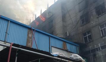 Rupganj juice factory still burning