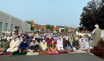 Eid congregations in more than two hundred open fields in USA