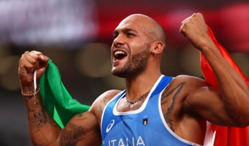 Jacobs wins 100m gold at Tokyo Olympics