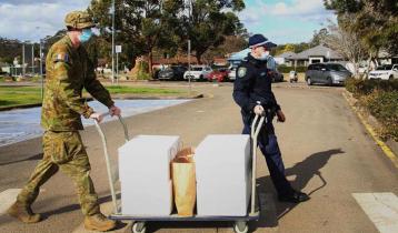 Army patrols Sydney streets