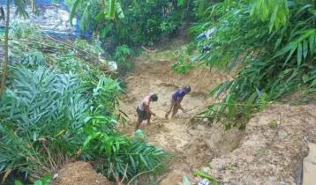 6 killed in Ukhiya Rohingya camp landslide