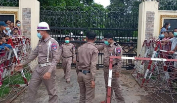 Covid infection surges prison in Myanmar
