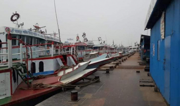 Launch service on Shimulia-Banglabazar route suspended