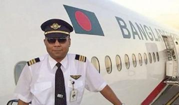 Pilot Nawshad Quaiyum on life support
