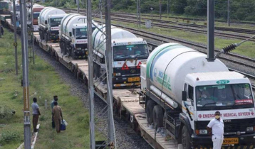 431 tons of oxygen arrive in country from India