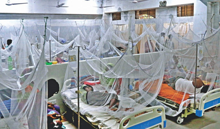 Over 100 dengue patients hospitalized in 24 hours