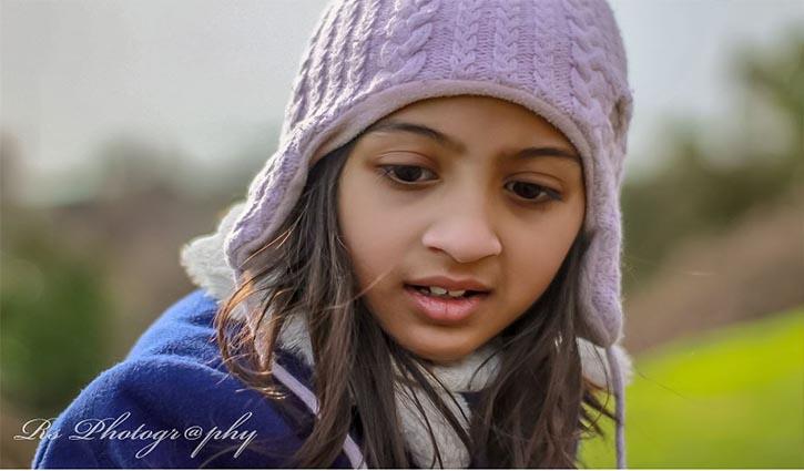 Autistic Saniya Rahman wins heart in Social Media