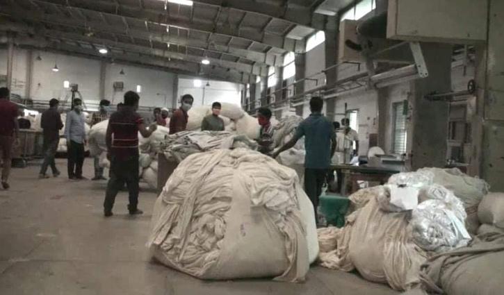 গাজীপুরে কারখানা খোলা রাখায় ১ লাখ টাকা জরিমানা