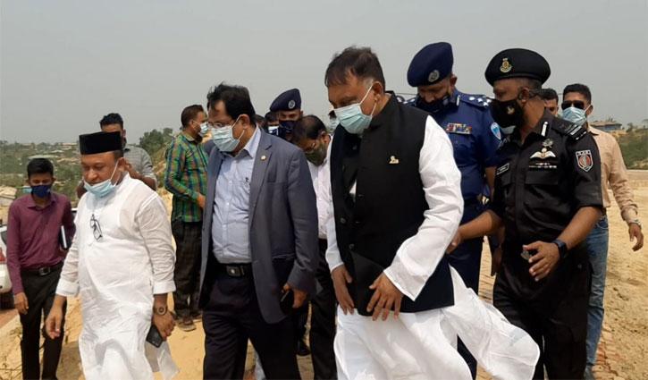 'রোহিঙ্গা ক্যাম্পে অগ্নিকাণ্ডের ঘটনায় তদন্ত প্রতিবেদন জমা দেওয়ার পর ব্যবস্থা'