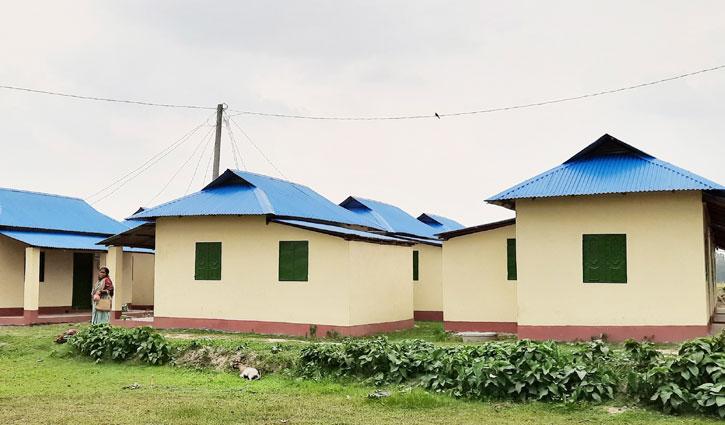 হবিগঞ্জে নতুন ঘর পাচ্ছে ভূমি ও গৃহহীন ৪৬২ পরিবার