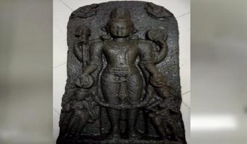 ঠাকুরগাঁওয়ে ৭৫ কেজি ওজনের বিষ্ণু মূর্তি উদ্ধার