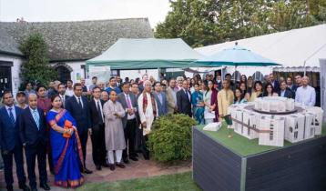 ক্যানবেরায় বাংলাদেশ জাতীয় সংসদ ভবনের মিনিয়েচার উদ্বোধন