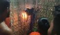 ঠাকুরগাঁওয়ে একটি গ্রামে অলৌকিক আগুন, আতঙ্কে ২০ পরিবার