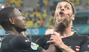 'অপমানজনক' গোল উদযাপন করে নিষিদ্ধ অস্ট্রিয়ার ফুটবলার
